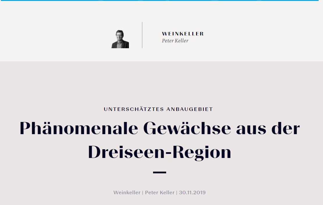 Bester Wein Dreiseen Region Bielersee Syrah